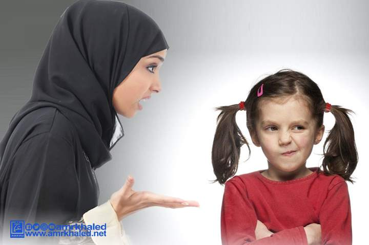 طفلتي عنيدة وأنانية وأنا عصبية وأضربها كيف أتصرف