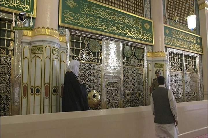 هل يجوز للحائض دخول المسجد النبوي